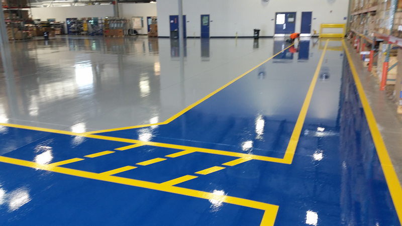 Epoxy and Urethane Floor Coatings