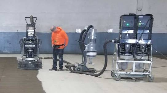 State of the Art Surface Preparation Equipment for Concrete Floors